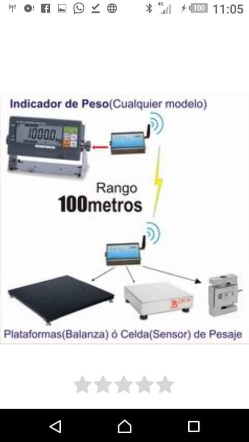BALANZA ELECTRONICA TIPO RAMPA INDUSTRIAL CON SALIDA A IMPRESORA O AL