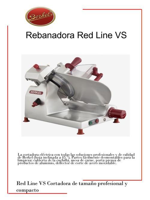 REBANADORA BERKEL RED LINE VS