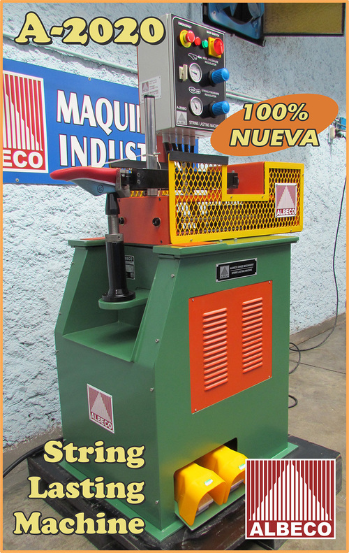 ALBECO STRING LASTING MACHINE