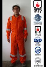 overol anti flama NFPA 2112 NFPA 70E