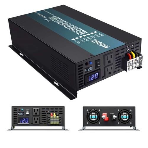 Inversor de Voltaje DC / AC onda de salida Seno: