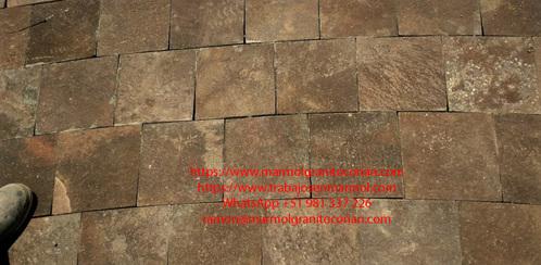 baldosas de piedra talamoye, piedra laja, piedra granítica, formato