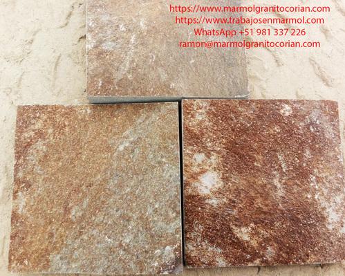 piedra talamoye, piedra laja, piedra granítica, baldosas seleccionada