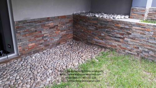 jardinera en piedra talamoye, piedra laja, piedra granítica