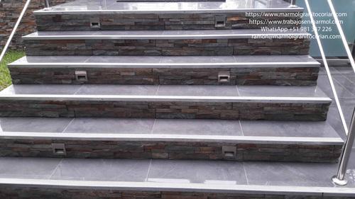 pasos y contrapaso en piedra talamoye, piedra laja, piedra granítica