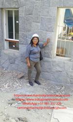 piedra talamoye, piedra laja, piedra granítica tipo rompecabeza