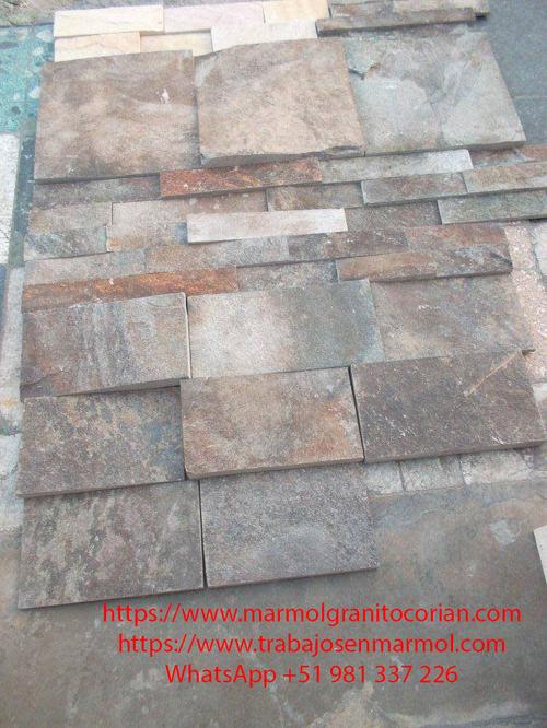 fachaleta de piedra talamoye, piedra granítica en diversos formatos