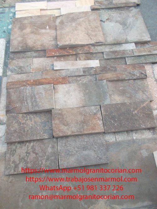fachaleta de piedra talamoye, piedra laja, piedra granítica