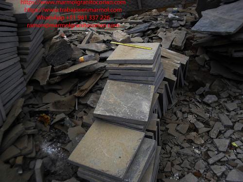 Piedra talamoye, piedra laja, piedra granítica formato 40 x 40