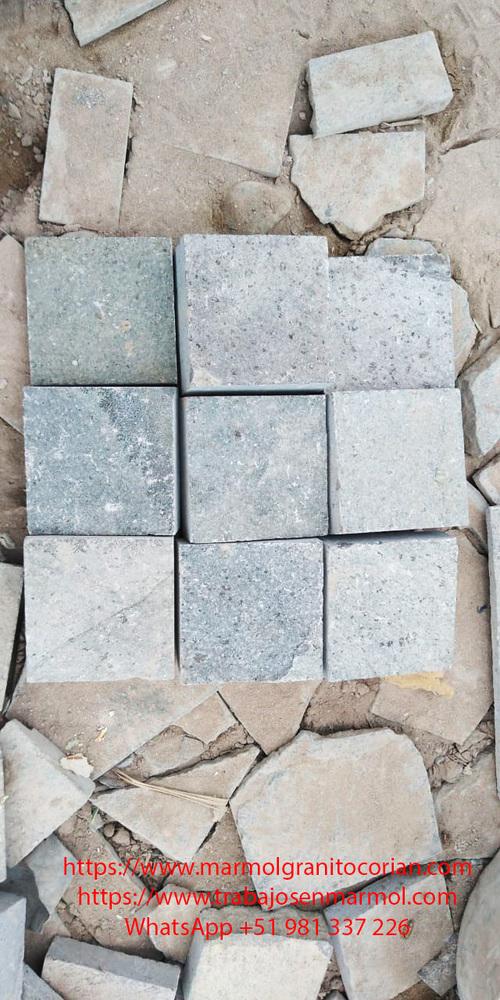Piedra talamoye, piedra granítica formato 5 x 5