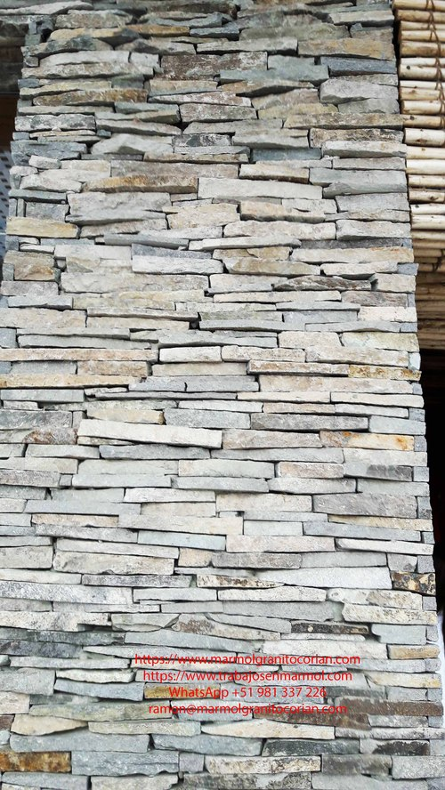 piedra rustica en la pared
