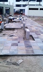 Piedra talamoye, piedra laja, piedra granítica 40 x 40