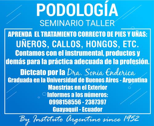PODOLOGIA SEMINARIO TALLER