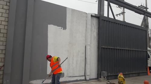 Mantenimiento de pintura fachadas