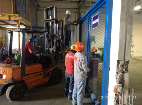 Fabricación e instalación de portones metálicos