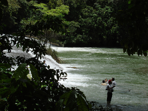 Rio Chiyú, Chahal Alta Verapaz.