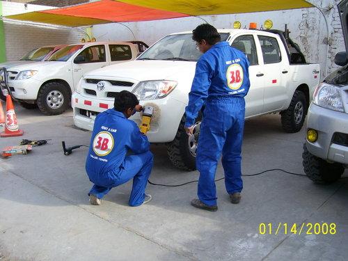 taller 3b mantenimiento diario para camionetas