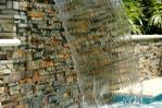 Caidas de agua y piscinas
