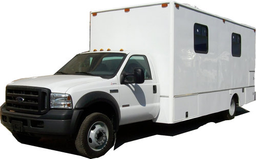 MOBILE MEDICAL UNIT TWO OFFICES AND BATH