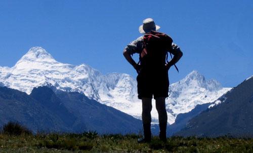 cordillera huayhuash trekking peruvian mountains