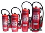 06-09-12-13.6 extintores PQS kg de CO2 com cartucho de unidade