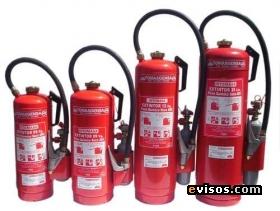 extintores de 06-09-12-13.6 kg de pqs con cartucho impulsor de co2