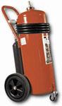 extintores de 25-50-75-100 kg rodantes de pqs con cartucho impulsor