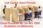 LOCUTORIOS CABINAS CALL CENTER TELEOPERADORAS,MUEBLES ESPECIALES