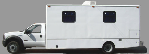 Mobile Medical Unit WITH TWO OFFICES AND BATH