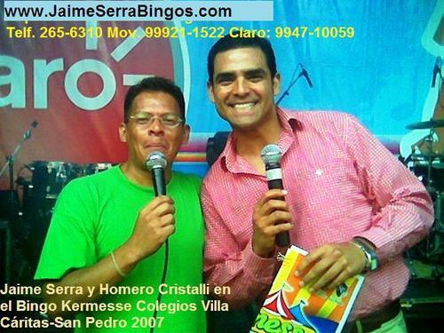 Alquiler de Bingos www.JaimeSerraBingos.com Telf. 265-6310