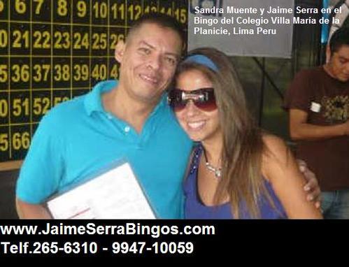Bingos Holiday www.JaimeSerraBingos.com Tel 265-6310