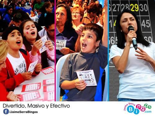Holiday Bingo www.Facebook.com / JaimeSerraBingos Tel 265-6310