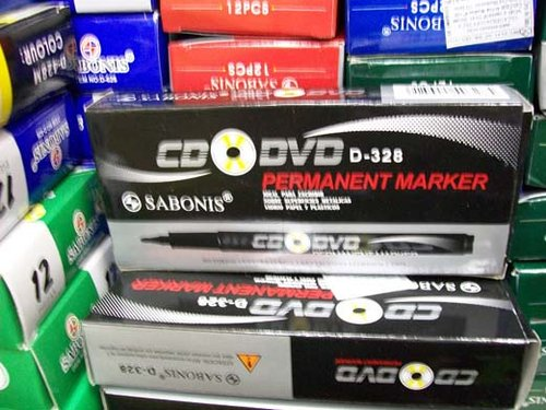 MARCADOR  INDELEBLE PARA CD COD: D-328