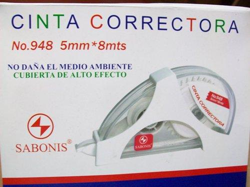 948 CINTA CORRECTORA