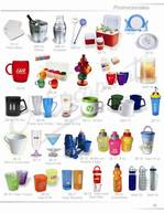 Various promotional items