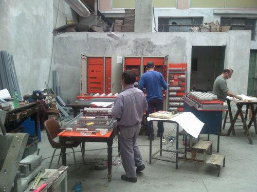 taller de la empresa