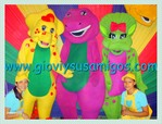 Show de Barnie y sus amigos en vivo solo con Giovi y sus amigos