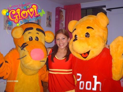 winnie Pooh se encuentra en Giovi y sus amigos