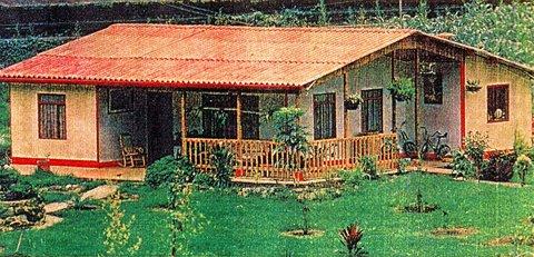 Modelo Country House pré-fabricadas