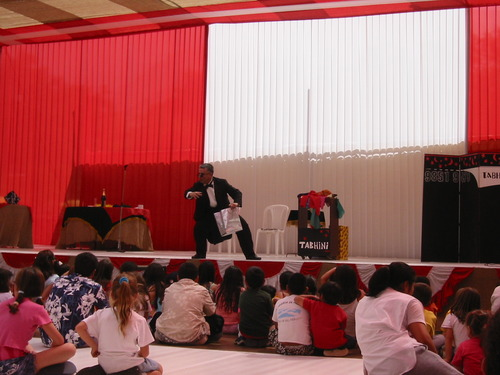 A magic show amazingly dynamic!