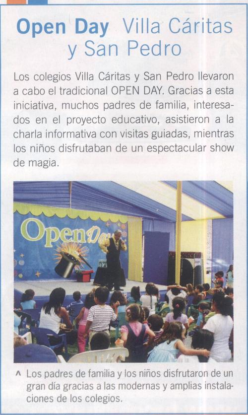 San Pedro Scholen en Villacáritas