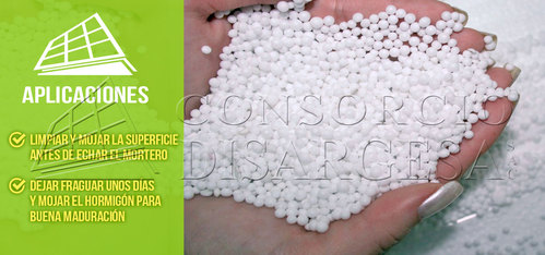Styrofoam or polystyrene beads
