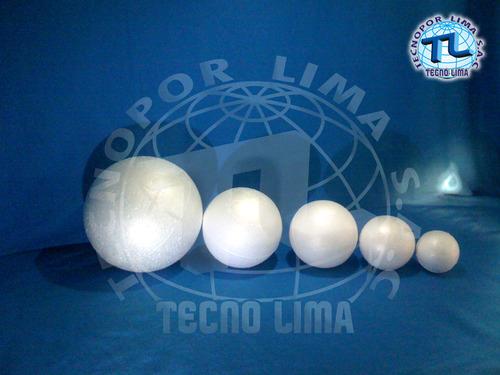 styrofoam balls.