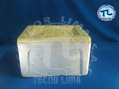 caja de tecnopor # 12