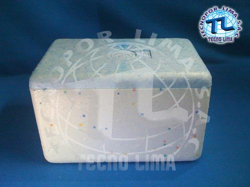 caja de tecnopor # 25