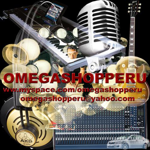 OMEGASHOPPERU Audio Profesional-Instrumentos Musicales-Importaciones..