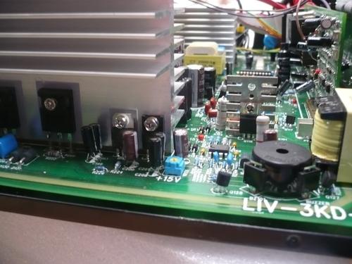 Inversor de Corriente continua a alterna 48VDC 110VAC