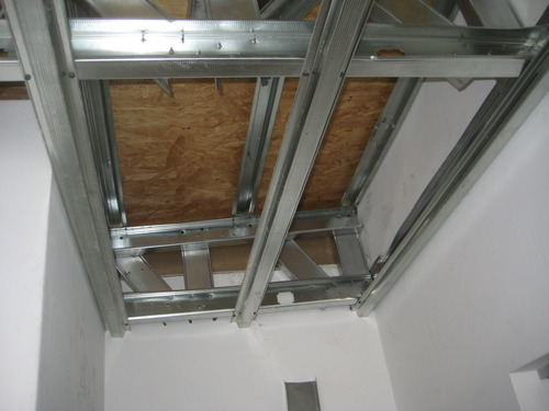EXTENSION DRYWALL CEILING IN PATIO / Surco