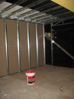 WITH EXTENSION DRYWALL