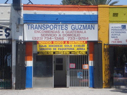 Transportes Guzman - Los Angeles, California